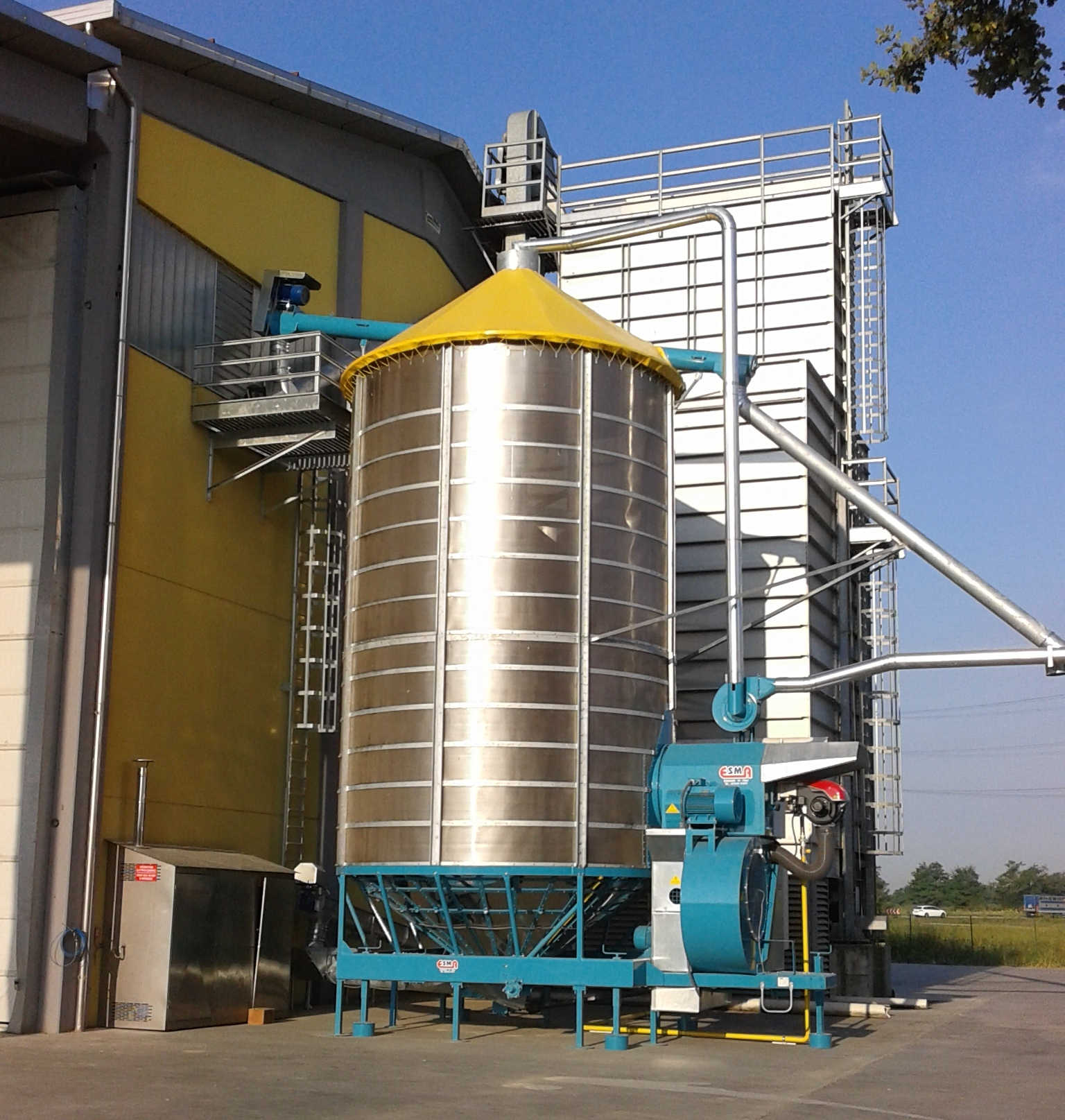 Esma Ideal for all types of cereals and oilseeds